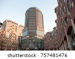 hague  holland  netherlands.... | Shutterstock . vector #757481476