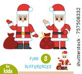 find differences  education... | Shutterstock .eps vector #757508332