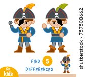 find differences  education... | Shutterstock .eps vector #757508662