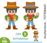 find differences  education... | Shutterstock .eps vector #757508665