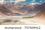 Beautiful view of the pamir ...