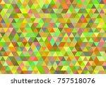 abstract seamless mosaic... | Shutterstock .eps vector #757518076