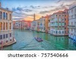 Grand Canal  Venice Italy ...