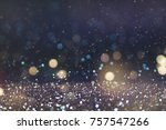 christmas and happy new year on ...   Shutterstock . vector #757547266