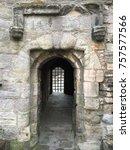 old stone doorway   Shutterstock . vector #757577566