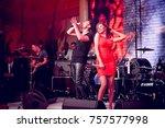 odessa  ukraine december 31 ...   Shutterstock . vector #757577998
