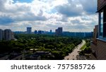 cityscapes of moscow. | Shutterstock . vector #757585726