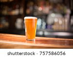 low angle close up of... | Shutterstock . vector #757586056
