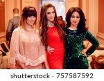 odessa  ukraine december 31 ... | Shutterstock . vector #757587592