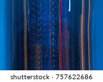 abstract science motion texture ... | Shutterstock . vector #757622686