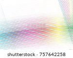 Colored Line Abstract Pattern...