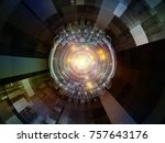 central design series. backdrop ... | Shutterstock . vector #757643176