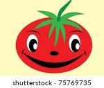 tomato | Shutterstock .eps vector #75769735