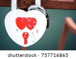 Heart Shaped Padlock. Locks Of...