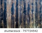 old brown wood flooring from... | Shutterstock . vector #757724542