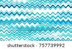 watercolor wavy stripes in... | Shutterstock .eps vector #757739992