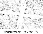 grunge black and white seamless ... | Shutterstock . vector #757754272