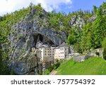 predjama castel  slovenia | Shutterstock . vector #757754392