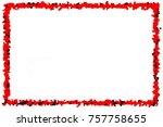 abstract background modern... | Shutterstock . vector #757758655