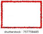 abstract background modern... | Shutterstock . vector #757758685