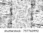 grunge black and white seamless ... | Shutterstock . vector #757763992