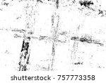grunge black and white seamless ... | Shutterstock . vector #757773358