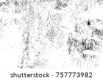 grunge black and white seamless ... | Shutterstock . vector #757773982