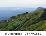 landscape of mountain view at... | Shutterstock . vector #757791562