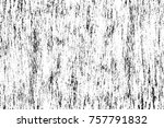 grunge black and white seamless ... | Shutterstock . vector #757791832