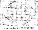 grunge black and white seamless ... | Shutterstock . vector #757792888