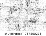 grunge black and white seamless ... | Shutterstock . vector #757800235