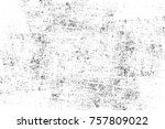 grunge black and white seamless ... | Shutterstock . vector #757809022