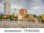 tirana  albania. november 12 ... | Shutterstock . vector #757810432