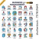 business management concept...