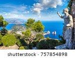 Capri Island In A Beautiful...
