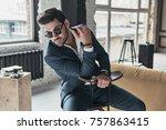 amazing look  good looking... | Shutterstock . vector #757863415