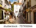 marbella  andalusia  spain ... | Shutterstock . vector #757900066