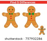 educational game for children ... | Shutterstock .eps vector #757932286