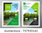 business brochure. flyer design.... | Shutterstock .eps vector #757935142