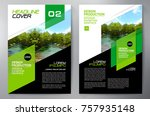 business brochure. flyer design.... | Shutterstock .eps vector #757935148
