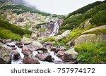 vysoke tatry  slovakia   view...   Shutterstock . vector #757974172