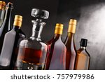 composition with carafe and...   Shutterstock . vector #757979986