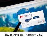 montreal  canada   november 17  ... | Shutterstock . vector #758004352