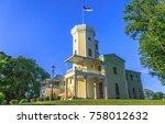 keila joa  estonia   july 22 ... | Shutterstock . vector #758012632