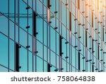 office building windows | Shutterstock . vector #758064838