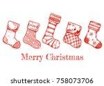 vector illustration of an... | Shutterstock .eps vector #758073706