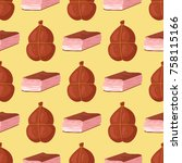 meat seamless pattern