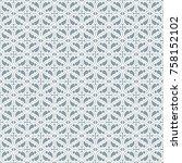 seamless gothic background....   Shutterstock .eps vector #758152102