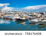 cannes  france   september 18 ... | Shutterstock . vector #758176408
