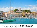 cannes  france   september 18 ...   Shutterstock . vector #758176438